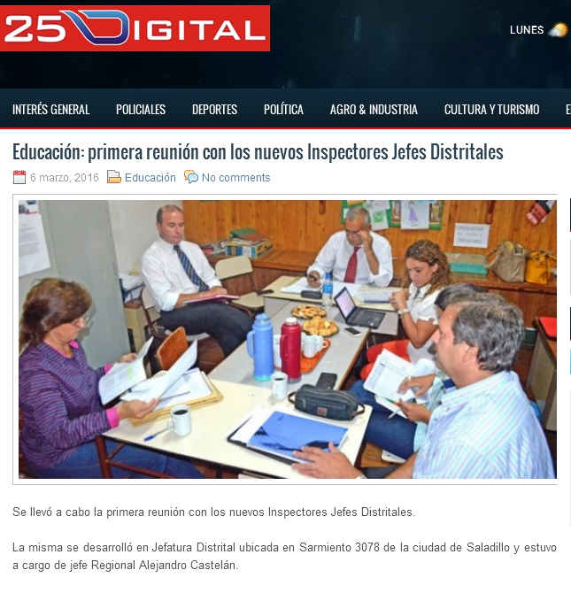 Educación primera reunión con los nuevos Inspectores Jefes Distritales - 25 Digital