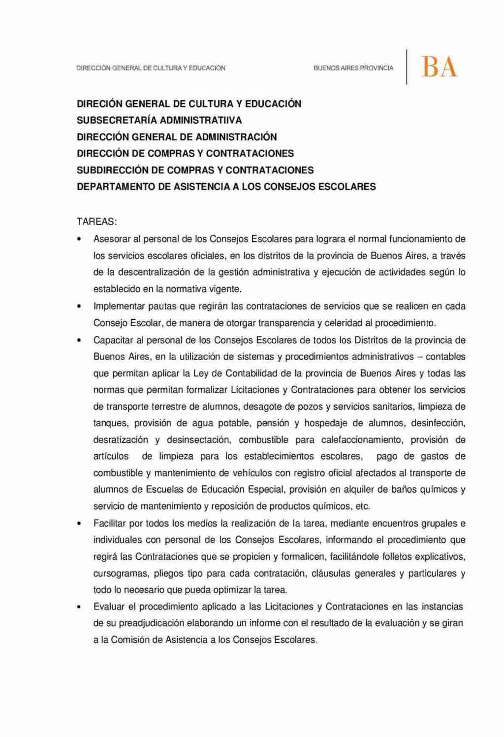 2015 - Misiones y Funciones del Dpto.